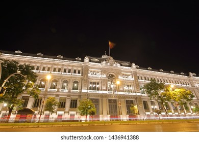 Central bank of Spain in Madrid Spain