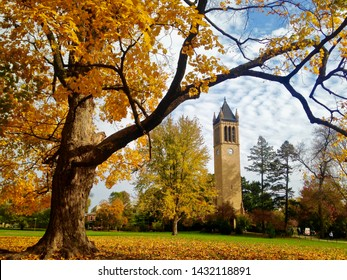 The Central Campus of Iowa State University in the fall