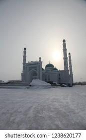 Central cathedral mosque of Karaganda, Kazakhstan