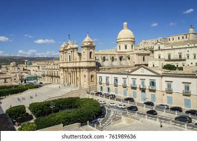 Central cathedral Noto Sicily