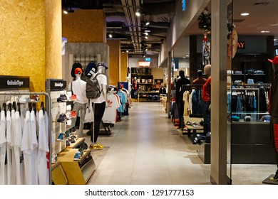 CENTRAL CHIDLOM ,BANGKOK - FEB 10: Central Chidlom shopping mall on February 10, 2018 in Bangkok, Thailand. It's located in the heart of Bangkok, connected to Central Embassy Shopping Mall.
