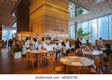 CENTRAL EMBASSY ,BANGKOK - April 8: Open House Co-living space at 6th floor, Central Embassy on April 8, 2017 in Bangkok, Thailand. Central Embassy is a luxury mall, Located at the heart of Bangkok.