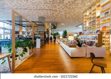 CENTRAL EMBASSY ,BANGKOK - FEB 10: Open House Co-living space at 6th floor, Central Embassy on February 10, 2018 in Bangkok, Thailand. Central Embassy is a luxury mall in the center of Bangkok.