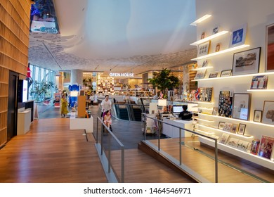 CENTRAL EMBASSY ,BANGKOK - JULY 29: Open House Co-living space at 6th floor, Central Embassy on July 29, 2019 in Bangkok, Thailand. Central Embassy is a luxury mall, Located in the heart of Bangkok.