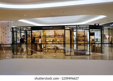 CENTRAL EMBASSY ,BANGKOK - NOV 24: Central Embassy on November 24, 2018 in Bangkok ,Thailand. Central Embassy is a luxury mall, Located at the heart of Bangkok.