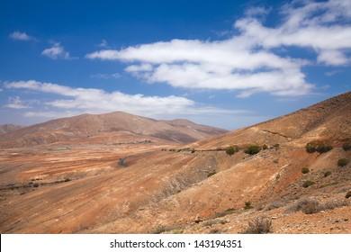 Central Fuerteventura, valley of Betancuria