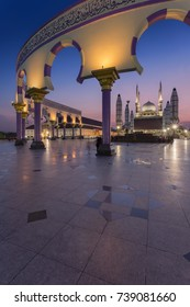 The Central Java Great Mosque is the biggest mosque in Central Java, Indonesia.