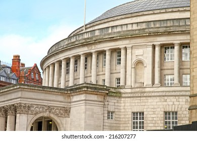 Central library building Manchester England UK