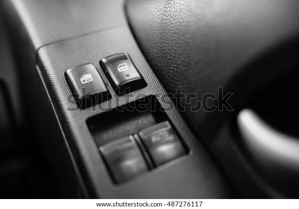 Central Lock Central Locking Car Door Stock Photo Edit Now 487276117