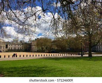 Central London, spring
