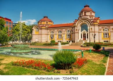 Central Mineral Baths in Sofia (Bulgaria), HDR-technique
