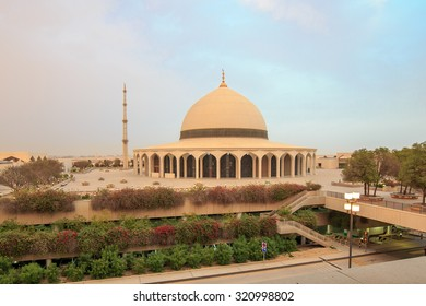 Central Mosque at King Fadh international Airport in Dammam