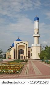Central Mosque No. 1 in Karaganda. Kazakhstan