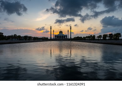 Central Mosque one of the famous landmark Songkhla province, Southern of Thailand.