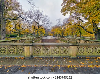 The Central Park Mall, New York City in Autumn