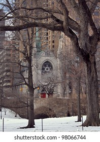 Central Park , New York, United States (Holy Trinity Lutheran Church)