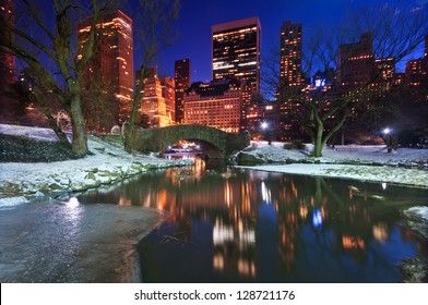Central park twilight