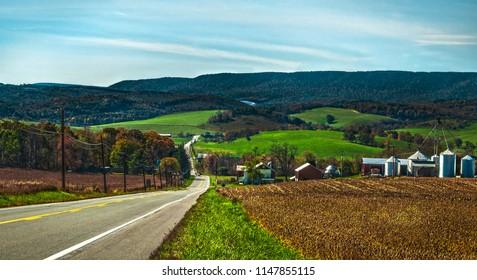 Central Pennsylvania Hills