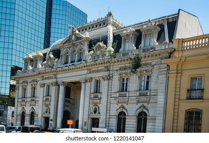 Central Post Office (Correo Central) Building is a historic post office building on the northern edge of the Plaza de Armas, in Santiago, Chile