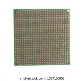 Central processing unit CPU microchip