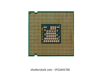 Central processing unit ( CPU ) or Microprocessor close up