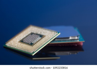 Central processing unit CPU processors microchip