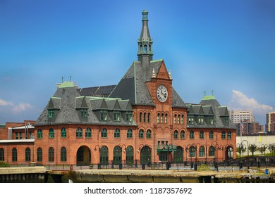 The Central Railroad of New Jersey Terminal in Liberty Park
