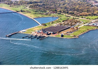 Central Railroad of New Jersey Terminal and Liberty state park