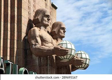 Central railway station - Helsinki, Finland