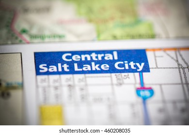 Central Salt Lake City. Utah. USA