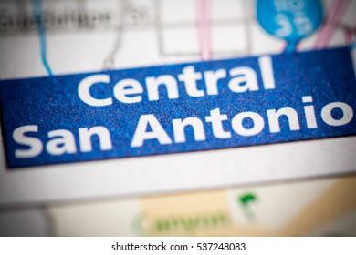 Central San Antonio. Texas. USA