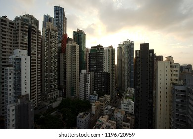 Central and Sheung Wan, Hong Kong from a different angle