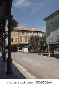 central square, Mirepoix, France