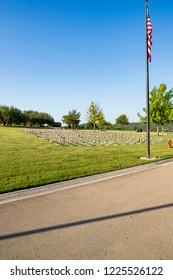 Central Texas State Veteran's Cemetery in Killeen,Texas