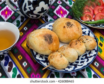 Central-Asian cuisine - samsa