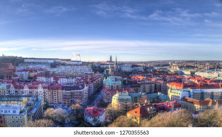 the centre and Gothenburg cityscape in the surrounding,