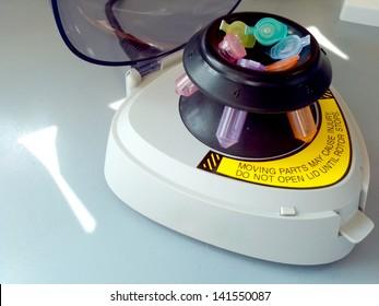 Centrifuge with Test Tube
