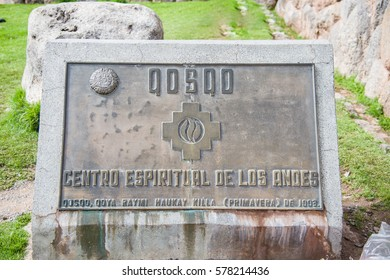 Centro Espiritual de los Andes - January 28  :Fortress in the north of Cusco - megalithic structures, the last stronghold of the Incas. .January 28, 2017, Peru.