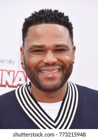 "CENTURY CITY - DEC 10:  Anthony Anderson arrives to the ""Ferdinand"" Special Screening  on December 10, 2017 in Century City, CA"