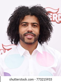 "CENTURY CITY - DEC 10:  Daveed Diggs arrives to the ""Ferdinand"" Special Screening  on December 10, 2017 in Century City, CA"