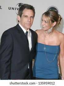 CENTURY CITY - MAY 06: Ben Stiller, Christine Taylor arriving at Project ALS Benefit event at Century Plaza Hotel May 06, 2005 in Century City, CA.