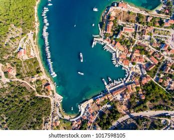 Cephalonia Fiskardo village and port
