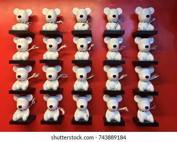 Ceramic bear doll