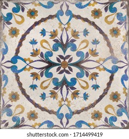 ceramic decorative mosaic tile, moroccan pattern tile for wall and floor