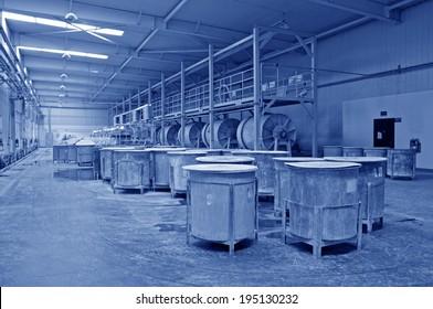 Ceramic factory equipment