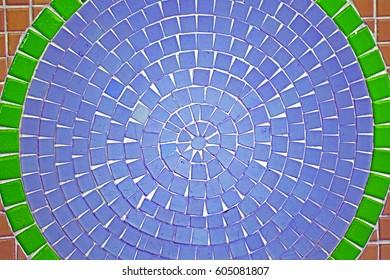 Ceramic floor background