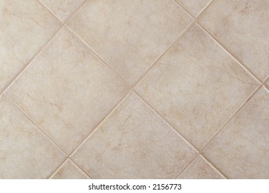 Ceramic floor tile field (bone color)