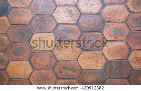 Ceramic Floor Tiles Top View