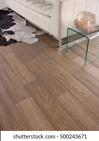 Ceramic floor wood style