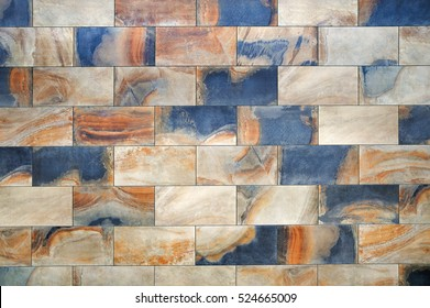Ceramic granite tiles pattern with a relief structure, background, texture